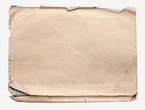 Marrón de empaquetado de papel Imágenes de archivo libres de regalías