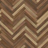Marrón de madera inconsútil de la raspa de arenque de la textura del entarimado fotos de archivo