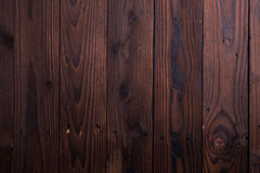 Marrón oscuro rústico de madera Fotos de archivo libres de regalías