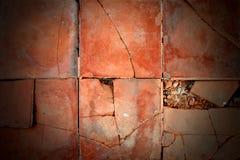 Marrón roto anaranjado de la textura del fondo Imagenes de archivo