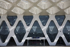 Marrakech airport stock images