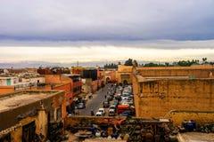Marrakech cloudscape Stock Photos