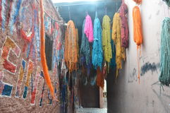 Marrakech kolory Zdjęcia Royalty Free