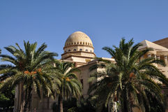 marrakech kunglig persontheatre Arkivfoton