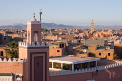 Marrakech - le Maroc photographie stock libre de droits