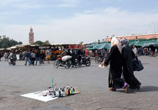 Marrakech Life Stock Image
