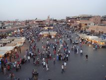 Marrakech market Royalty Free Stock Images