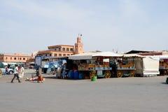 Marrakech market Royalty Free Stock Photo