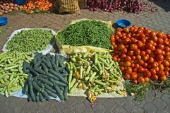 Marrakech Market Vegetables Royalty Free Stock Photos
