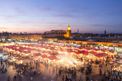 Marrakech Marketplace Royalty Free Stock Images