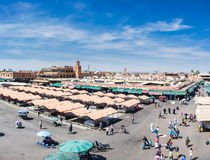 Marrakech Marketplace Stock Images