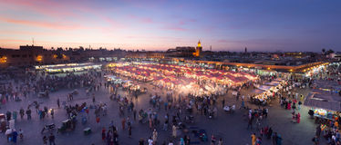 Marrakech Marketplace Stock Image