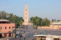 Marrakech Marocko Royaltyfria Foton