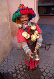 marrakech marokańska sprzedawcy woda Zdjęcie Stock
