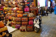 Marrakech Maroko rynek Zdjęcie Stock