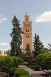 marrakech medina Arkivfoto