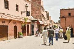 Marrakech Medina, Maroko obrazy stock