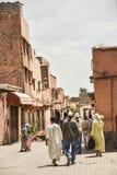 Marrakech Medina, Maroko zdjęcia stock