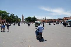 marrakech morocco Arkivfoton