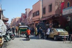 marrakech morocco Fotografering för Bildbyråer