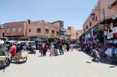 marrakech morocco Royaltyfri Bild