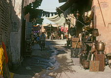 MARRAKECH, MOROCCO – AUGUST, 1979 Stock Image