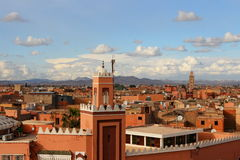 Marrakech in Morocco royalty free stock photos