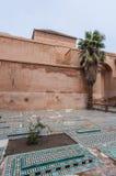 marrakech morocco saadian tombs Arkivbild