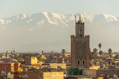 Marrakech in Morocco stock image