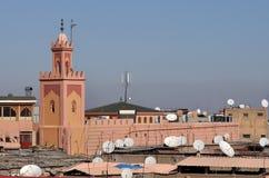 marrakech moské Royaltyfri Bild