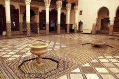 marrakech museum Royaltyfri Fotografi