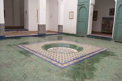Marrakech museum Stock Image
