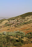 Marrakech natury krajobrazy w Maroko, Afryka Pustynia i góry Podróż Maroko zaniki Obraz Stock