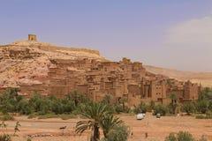 Marrakech natury krajobrazy w Maroko, Afryka Pustynia i góry Podróż Maroko zaniki Fotografia Royalty Free