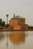 Marrakech natury krajobrazy w Maroko, Afryka Pustynia i góry Podróż Maroko zaniki Obrazy Royalty Free
