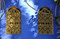 marrakech okno obrazy royalty free