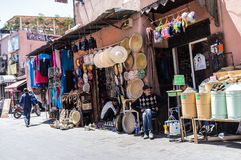 Marrakech Street (Shop) Stock Photography