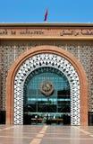 Marrakech train station Stock Image