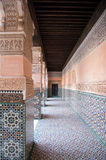Marrakesch Ben Youssef Medersa Stockfotografie