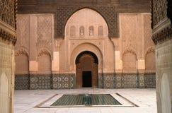 Marrakesch Madrassa Lizenzfreies Stockfoto