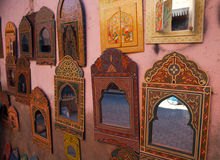 Marrakesch-Spiegel stockfotos