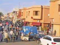 Marrakesch, städtische Ansicht. Stockfotos