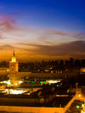 Marrakesh Fotografie Stock