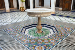 Marrakesh Bahia pałac Obraz Stock