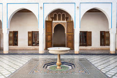 Marrakesh Bahia Palace Royalty Free Stock Photo
