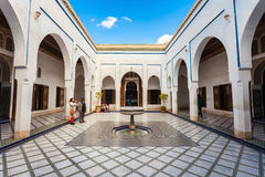 Marrakesh Bahia Palace Stock Photos