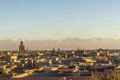 Marrakesh en Marruecos Fotos de archivo libres de regalías