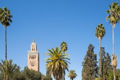City of Marrakesh in Morocco Royalty Free Stock Photo