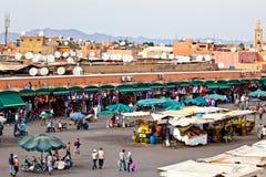 marrakesh główny kwadrat Zdjęcie Stock