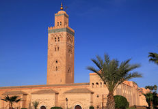 Marrakesh Koutoubia Mosque Stock Photography